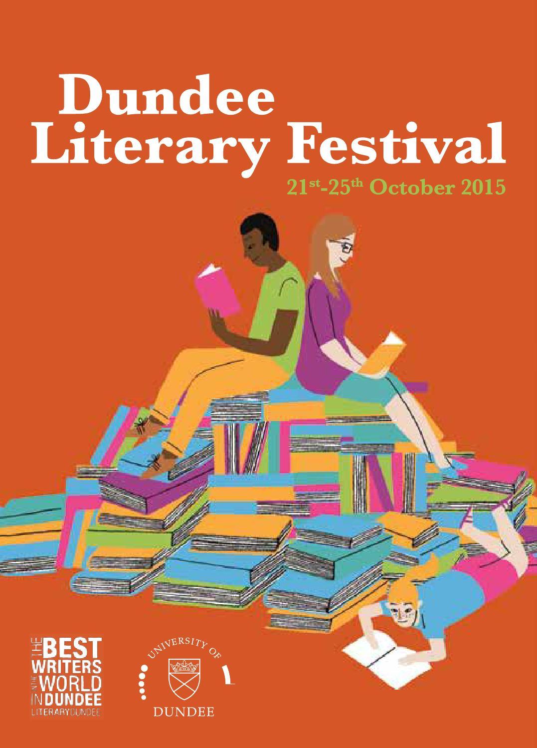 Dundee Literary Festival Design - Lit design 2015